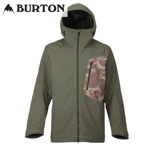 17-18 BURTON ジャケット [ak] Gore-Tex 2L Cyclic Jacket 10002104: Dusty Olive / Kodiak Camo 正規品/メンズ/スノーボードウエア/ウェア/バートン/snow|brv-2nd-brand