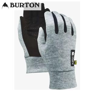 17-18 BURTON インナーグローブ MB TOUCH N GO LINER 10323101: Heathered Gray 正規品/バートン/メンズ/snow|brv-2nd-brand