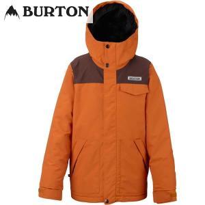 17-18 子供用 BURTON ジャケット Boys' Dugout Jkt 14614002:Maui Sunset Chestnut Corduroy 正規品/バートン/スノーボードウエア/ジュニア/キッズ/snow|brv-2nd-brand