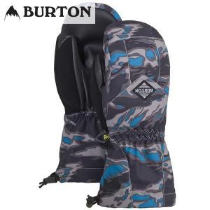 17-18 子供用 BURTON グローブ Youth Profile Mitt 15188102: Mountaineer Beast 正規品/スノーボード/バートン/ジュニア/キッズ/ミット/ミトン/snow/JR|brv-2nd-brand