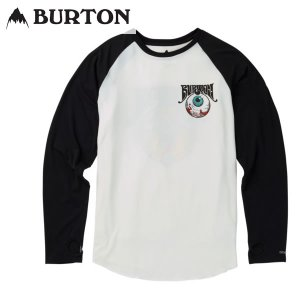 17-18 BURTON ファーストレイヤー Roadie Tech Tee 15377102: MTN Worship 正規品/バートン/スノーボード/インナー/長袖Tシャツ/snow|brv-2nd-brand