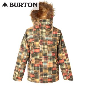 17-18 レディース BURTON ジャケット Women's Zinnia Jacket 17195101: Well-Loved Patching 正規品/スノーボードウエア/バートン/snow|brv-2nd-brand