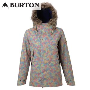 17-18 レディース BURTON ジャケット Women's Zinnia Jacket 17195101: Namaqualand 正規品/スノーボードウエア/バートン/snow|brv-2nd-brand