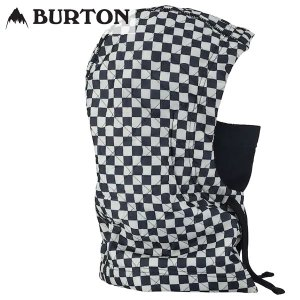 17-18 BURTON フード Analog Jagger Hood 18907100: Stout White Speed Check 正規品/メンズ/スノーボード/マスク/バートン/アナログ/snow|brv-2nd-brand