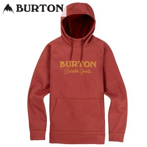 18-19 BURTON ボンデッドパーカー Crown Bonded Pullover Hoodie 10891106: Sparrow Heather 正規品/バートン/メンズ/スノーボード/ウエア/snow|brv-2nd-brand