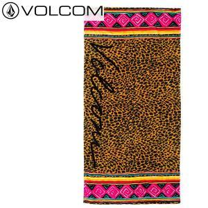 VOLCOM ビーチタオル NATIVE TRACKS TOWEL e6721501: blk 正規品/ボルコム/バスタオル/surf|brv-2nd-brand