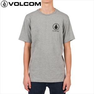 16SU VOLCOM 半袖TシャツMove On S/S Tee a3511602: hgr 正規品/ボルコム/メンズ/cat-fs