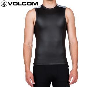 16SU VOLCOM ウェットスーツ Lefty Smooth Vest N1811600: BLK 正規品/メンズ/ボルコム/タッパーベスト/ウエットスーツ/SURF|brv-2nd-brand