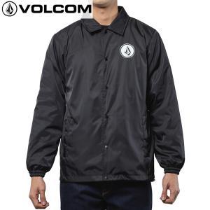 17FA VOLCOM コーチジャケット TTT BOARDS BOA COACH JKT a16317ja: blk 正規品/メンズ/ボルコム/ウインドブレーカー/cat-fs|brv-2nd-brand