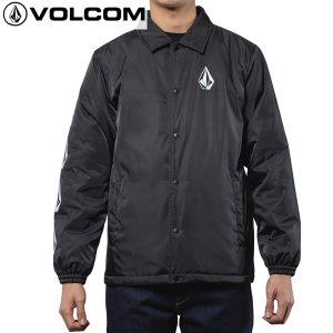 17FA VOLCOM コーチジャケット MANY STONES INS COACH JKT a16317jb: blk 正規品/メンズ/ボルコム/ウインドブレーカー/cat-fs|brv-2nd-brand