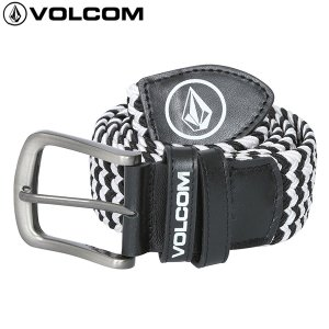 17SP VOLCOM ベルト Voltech Stretch Belt d59117ja :blk 正規品/メンズ/ボルコム /cat-fs|brv-2nd-brand