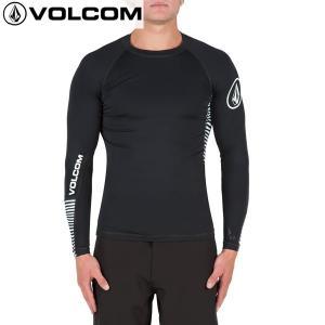 17SP VOLCOM ラッシュガード VIBES L/S n0311701: blk 正規品/ボルコム/メンズ/長袖/surf|brv-2nd-brand