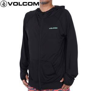 送料無料 17SU  VOLCOM ラッシュガード CIRDE STONE ZIP HOOD 2 n03217jb: bgr 正規品/ボルコム/メンズ/長袖/surf|brv-2nd-brand