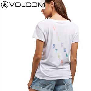 18SU レディース VOLCOM Tシャツ EASY BABE RAD 2 TEE b3521800 : wht 正規品/ Tシャツ レディース/ボルコム/半袖/cat-fs brv-2nd-brand
