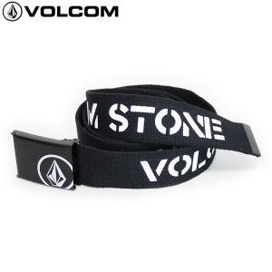 18SS VOLCOM ベルト STENCIL WEB BELT d59118ja: blk 正規品/メンズ/ボルコム/cat-fs|brv-2nd-brand