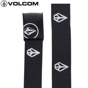 18SU VOLCOM ベルト PEACE CLOUD WEB BELT d59218ja: blk 正規品/メンズ/ボルコム/cat-fs|brv-2nd-brand