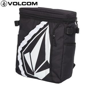 18SS VOLCOM バックパック STONE BOX S BP d65118jc: blk 正規品/ボルコム/メンズ/バッグ/リュックサック/cat-fs|brv-2nd-brand