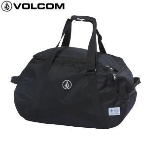 18SU VOLCOM ダッフルバッグ CIRCLE STONE D BAG d65218jb: blk 正規品/ボルコム/メンズ/ボストン/cat-fs|brv-2nd-brand
