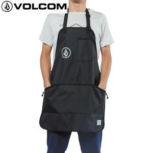 18SU VOLCOM エプロン CIRCLE STONE APRON d67218jb: blk 正規品/ボルコム/メンズ/作業用/cat-fs