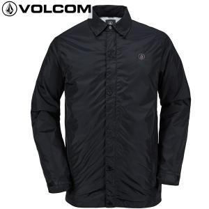 17-18 VOLCOM 撥水コーチジャケット SKINDAWG Jacket g0151805: blk 正規品/ボルコム/メンズ/スノーボードウエア/ウェア/snow|brv-2nd-brand