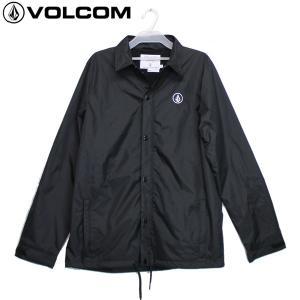 17-18 VOLCOM コーチジャケット SN Coach Jacket g01518ja: blk 正規品/ボルコム/メンズ/スノーボードウエア/ウェア/snow|brv-2nd-brand