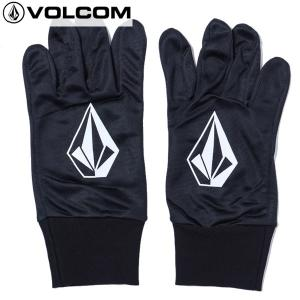 17-18 VOLCOM インナーグローブ Stone Inner Glove j67518je: BLK 正規品/ボルコム/メンズ/スノーボード/snow brv-2nd-brand