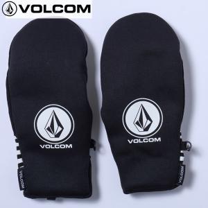 17-18 VOLCOM グローブ CIRCLE STONE NP MITT j68518jd: blk 正規品/メンズ/スノーボード/glove/ボルコム/snow|brv-2nd-brand