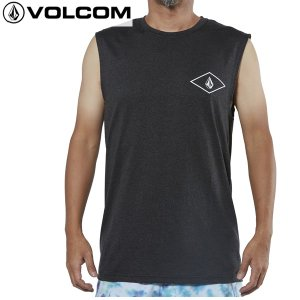 18SU VOLCOM ラッシュタンク DIA STONE MUSCLE SURF TANK n01218ja: chh 正規品/ボルコム/メンズ/ラッシュガード/タンクトップ/surf|brv-2nd-brand