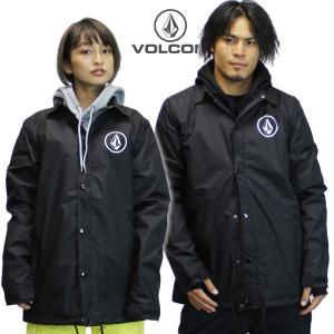 18-19 VOLCOM コーチジャケット BR Snow Coach Jacket g01519jc: blk 正規品/ボルコム/メンズ/スノーボードウエア/ウェア/snow|brv-2nd-brand