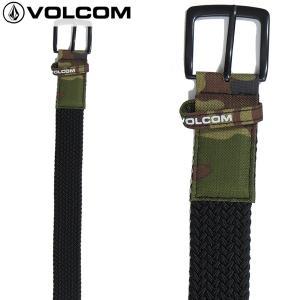 18-19 VOLCOM ベルト Stone Stretch Belt j59519jb: cam 正規品/メンズ/ボルコム/スノーボード/snow|brv-2nd-brand