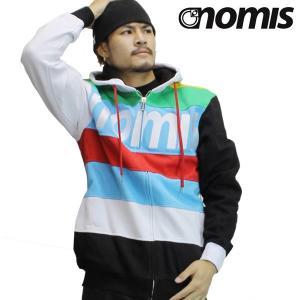 NOMIS フードパーカー TONY HOODY 09 35277:BlackWhite 正規品/ノーミス/メンズ/cat-fs|brv-2nd-brand
