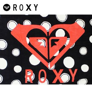 ROXY ロキシー ビーチタオル DOOR TO SUMMER #RTW121353 : BLK|brv-2nd-brand