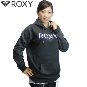 16FW ROXY パーカー WATER REPELLENT PULL OVER  rpo164621t :blk  正規品/ レディース/ロキシー/スノーボード/snow/cat-fs|brv-2nd-brand