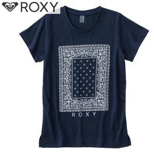 17SU ROXY 半袖 Tシャツ MY BANDANA TEE rst172001: bta0 正規品/レディース/ロキシー/surf|brv-2nd-brand