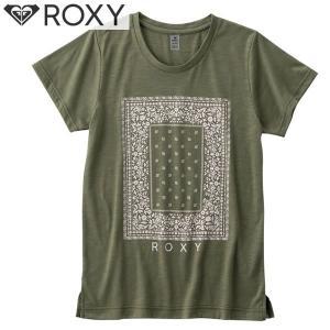 17SU ROXY 半袖 Tシャツ MY BANDANA TEE rst172001: gld0 正規品/レディース/ロキシー/surf|brv-2nd-brand