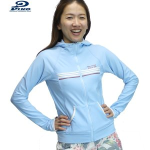 PIKO ピコ レディースラッシュパーカー 【LADY'S 2WAY RUSH PARKA : BLUE ブルー (71)】 #521315*sl40〜sf*|brv-2nd-brand