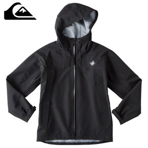 17-18 QUIKSILVER ジャケット Dry Flight Shell Jacket qjk174001: blk 正規品/クイックシルバー/メンズ/スノーボード/ウエア/snow brv-2nd-brand