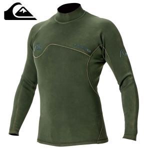 18SP QUIKSILVER タッパー 1.5 Q.O. MONOCHROM LS JKT qwt181904: ivy 正規品/メンズ/クイックシルバー/ウェットスーツ/surf brv-2nd-brand