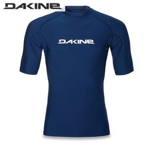 17SS DAKINE ラッシュガード HEAVY DUTY SNUG FIT Short Sleeve ah231-852: mid 正規品/ダカイン/メンズ/半袖/ah231852/surf|brv-2nd-brand