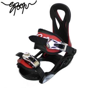 17-18 SPOON 子供用 バインディング PH-5 :BLK/RED 正規品/スノーボード/キッズ/ジュニア/スプーン/cat-snow CC99/JR|brv-2nd-brand