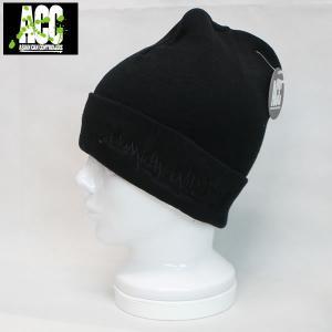 16SN ACC ビーニー turkey: BLK/BLK 正規品/スノーボード/帽子/ニットハット/cat-snow|brv-2nd-brand