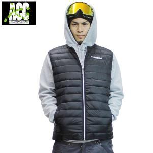 16-17 ACC ベスト INNER VEST: BLACK 正規品/スノーボードウエア/ウェア/メンズ/レディース/ユニセックス/snow|brv-2nd-brand