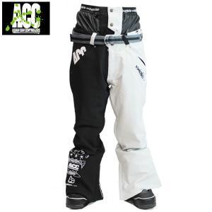 17-18 ACC パンツ ARTIST PANTS: Blk Stone White 正規品/スノーボードウエア/ウェア/メンズ/snow|brv-2nd-brand