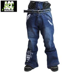 17-18 ACC パンツ ARTIST PANTS: Denim Ind Blu 正規品/スノーボードウエア/ウェア/メンズ/snow|brv-2nd-brand