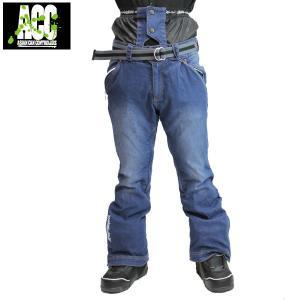 17-18 ACC パンツ EXTREME PANTS: Denim Ind Blu 正規品/スノーボードウエア/ウェア/メンズ/snow|brv-2nd-brand