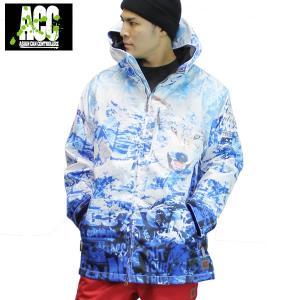 18-19 ACC ジャケット ARTIST JKT (ルーズfit) : Northern 正規品/スノーボードウエア/ウェア/メンズ/レディース/スキー/snow|brv-2nd-brand