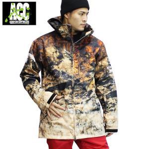 18-19 ACC ジャケット ARTIST JKT (ルーズfit) : Safari 正規品/スノーボードウエア/ウェア/メンズ/レディース/スキー/snow|brv-2nd-brand