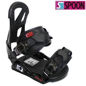 18-19 SPOON バインディング EQUIP:black 正規品/ビンディング/スプーン/メンズ/レディース/スノーボード/snow|brv-2nd-brand