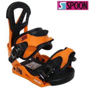 18-19 SPOON バインディング EQUIP:orange 正規品/ビンディング/スプーン/メンズ/レディース/スノーボード/snow|brv-2nd-brand
