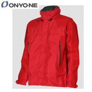 13SS ONYONE オンヨネ レインウエア アドバンスストレッチジャケット:レッド odj95022 brv-2nd-brand